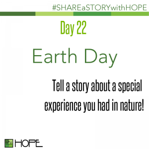 Share a Story about Earth Day