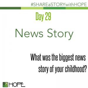 Share a Story about a news story